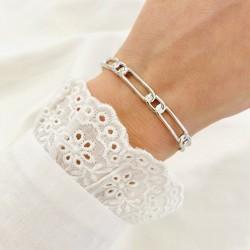"""Bracelet """"June"""" argent"""
