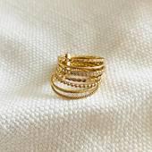 [ RETOUR EN GRACE ] du semainier qui est un béa-bas pour celles qui le connaissent! Composé de 7 anneaux comme les 7 jours de la semaine, ceux-ci sont plus ou moins travaillés et reliés par une barrette.  #nouveauté #new #newcollection #nouvellecollection  #collection #latelierdubijoutier #latelier_du_bijoutier #bijoux #jewels #mode #fashion #fashiongram #style #love #beautiful #instagood #instaphoto #instapic #instafashion #suiveznous #followus  L'Atelier du Bijoutier c'est aussi: Fabrication, création, transformation, réparation de bijoux et de montres; vente de bijoux en or 18 carats, plaqué or, argent 925ème et acier. Perçage d'oreilles (tous âges).