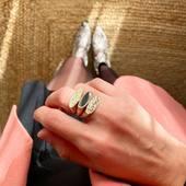 •VANINA•VANINA BLACK• #nouvellecollection #newcollection #nouvelleco #ring #gold #black #accumulation