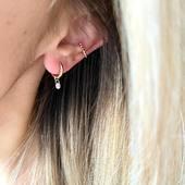 [ PIERCING ] sans 💉 c'est possible avec les bagues d'oreilles trop mimi de notre capsule «Les Mignonnes»  #new #tendance
